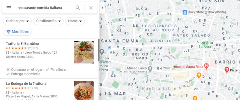 posicionar tu negocio en google maps.
